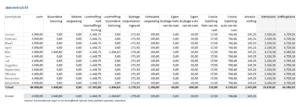 Jaaroverzicht dga salarisadministratie Excel