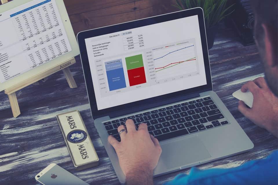 Nettowaarde calculator in Excel