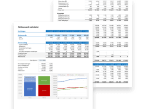 Bereken en monitor je nettovermogen in Excel