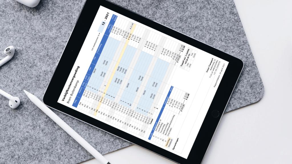 VKV berekenen in Excel