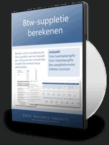 Btw-suppletie berekenen in Excel