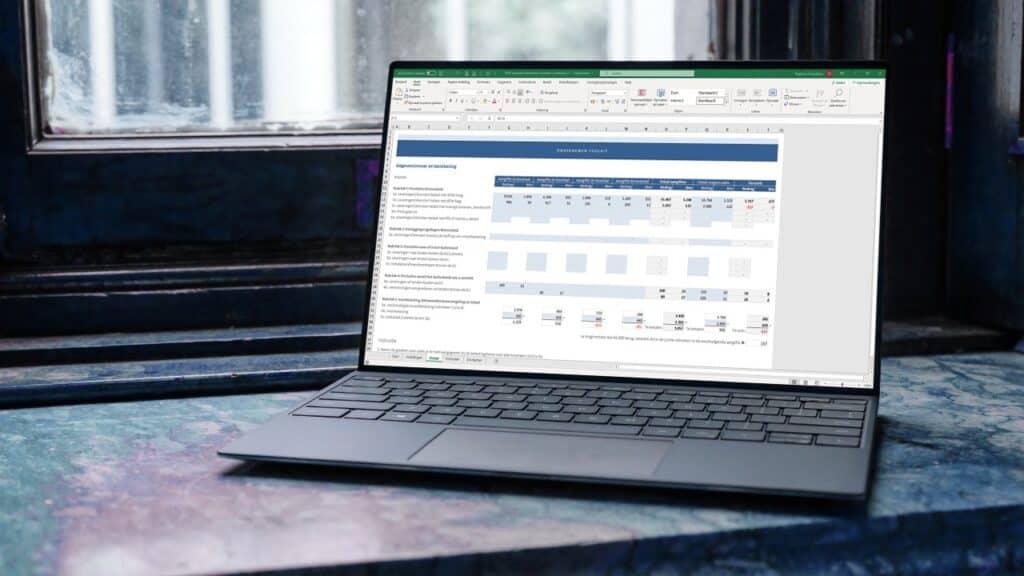 Bereken de btw-suppletie eenvoudig in Excel