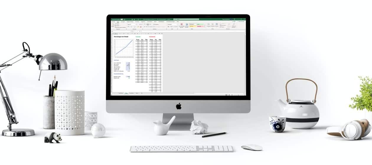 7 manieren om cijfers te berekenen in Excel