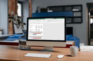 Winstmarge na korting geven in Excel