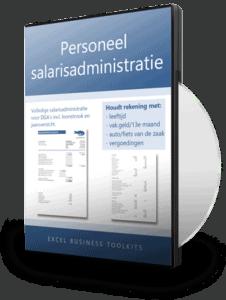Salarisadministratie personeel in Excel
