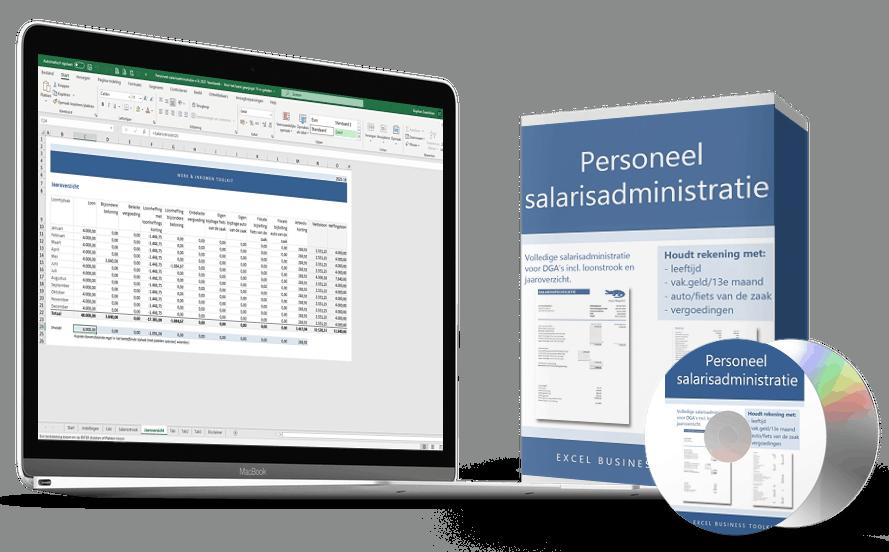 Salarisadministratie personeel in Excel - doe het eenvoudig zelf