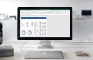 Benodigde prijsverhoging in Excel berekenen