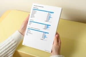 Inventarisatie inboedel in Excel