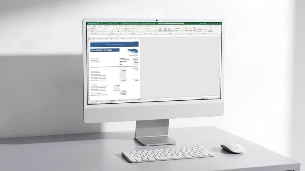 Doe zelf de salarisadministratie van je personeel in Excel