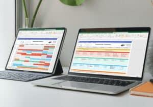 Personeelsoosters maken in Excel