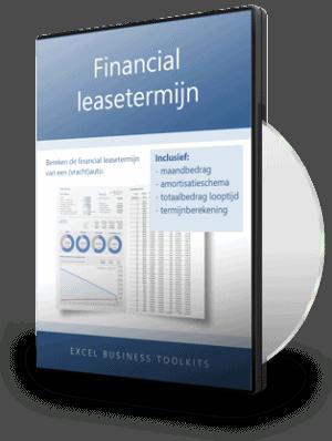 Financial leasetermijn berekening