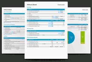 Draaiuurprijs heftrucks berekenen in Excel