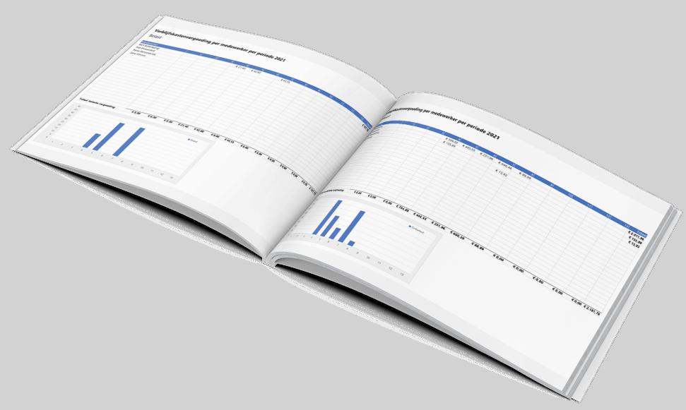 VKV per medewerker per maand of periode