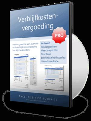 Verblijfkostenvergoeding Pro Editie