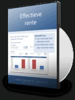 Effectieve rente berekenen in Excel