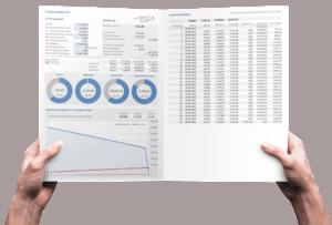 Financial lease Pro met tussentijdse aflossing