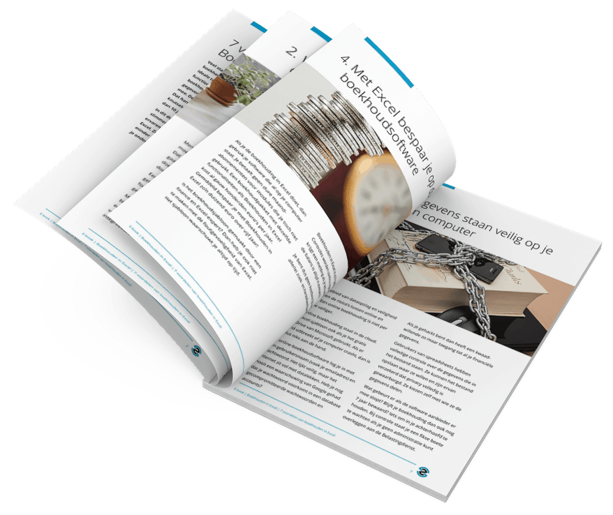 Brochure: 7 voordelen van Boekhouden in Excel
