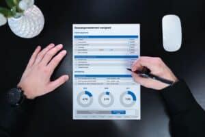 Aanvangsrendement vastgoed berekenen in Excel