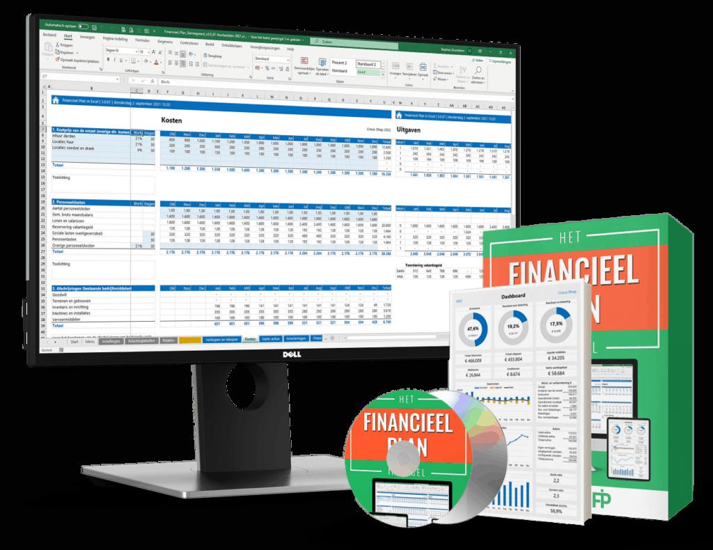 Financieel jaarplan en/of meerjarenplan maken in Excel