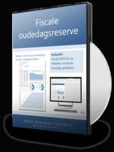 Fiscale oudedagsreserve berekenen in Excel