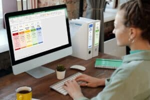 Ordnerruggen maken in Excel