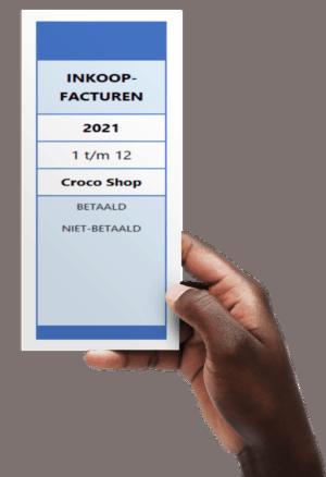 Ordnerrug maken in Excel