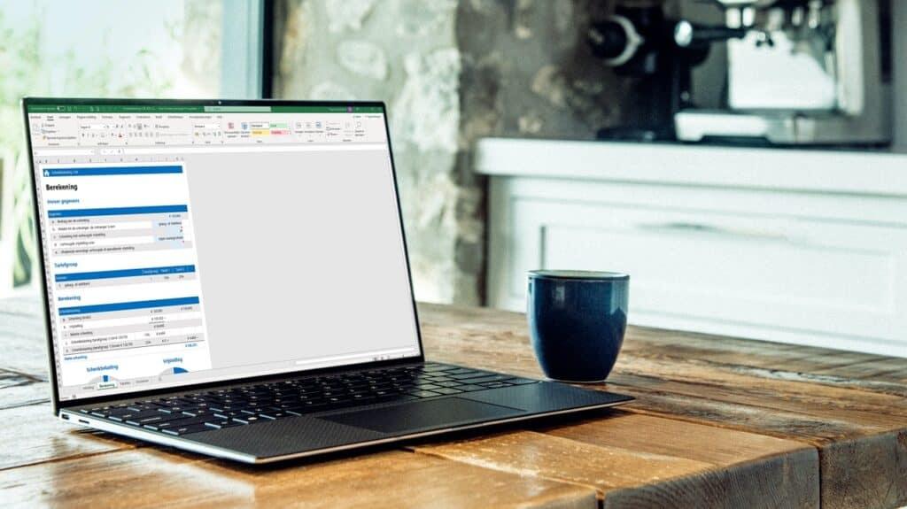 Hoeveel belasting betaal je over een schenking de je krijgt? Bereken het zelf simpel in Excel.