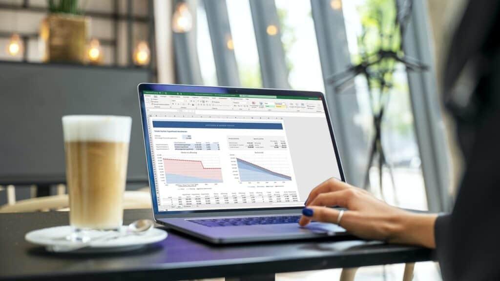 Totale kosten hypotheek berekenen in Excel