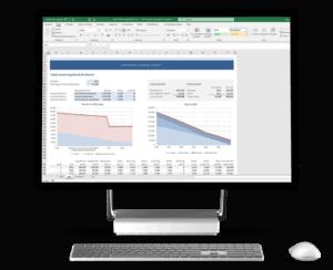 Totale hypotheekkosten vergelijken in Excel