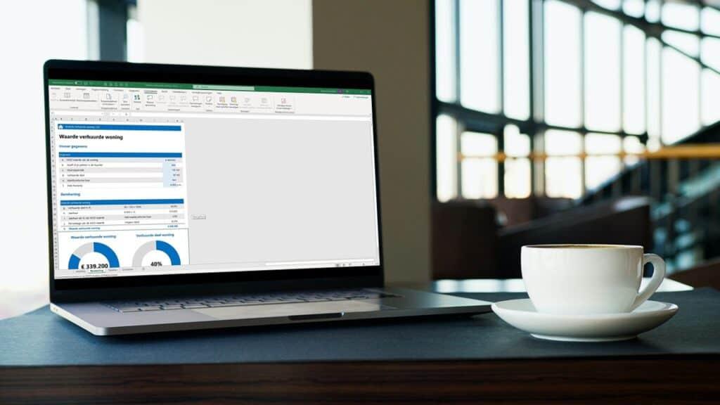 Waarde verhuurde woning berekening Excel
