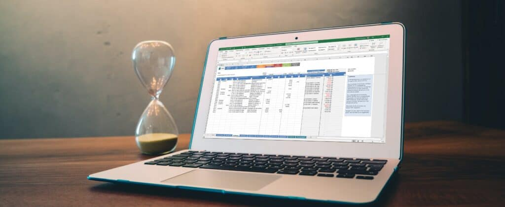 Excel bespaart tijd
