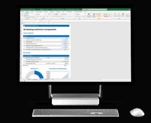 Bereken het rendement op zonnepanelen in Excel