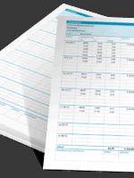 Weekstaat in Excel - voorbeelden
