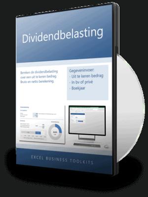 Dividendbelasting in Excel berekenen