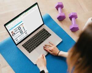 Houd je workouts bij in Excel