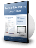 Vergelijk persoonlijke leningen in Excel